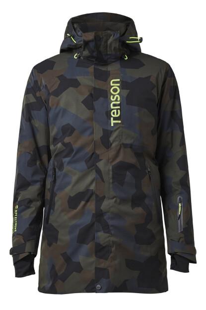 TENSON Spectre Coat M tmavě zelená
