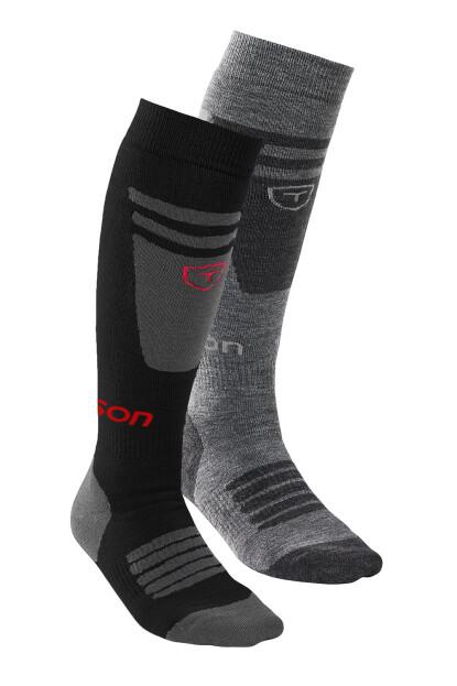 TENSON Core Ski 2-Pack šedé