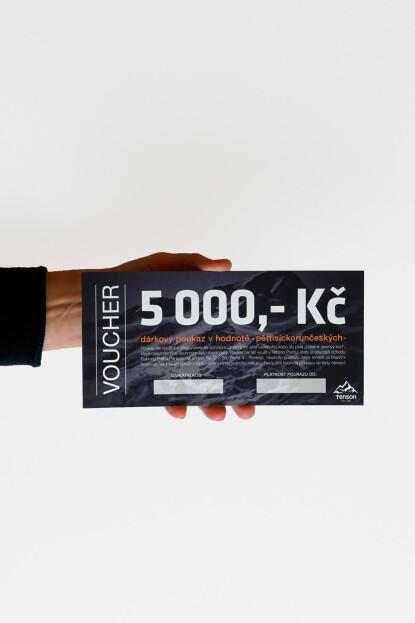 Dárkový poukaz 5000,-